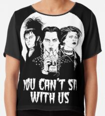 You can't sit with us. Chiffon Top