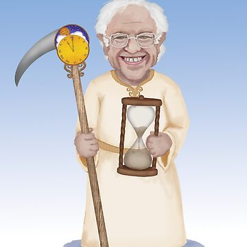 Bernie Sanders Father Time by Fullfrogmoon