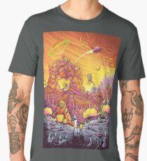 Rick and Morty artwork Men's Premium T-Shirt