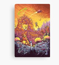Rick and Morty artwork Canvas Print