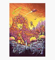 Rick and Morty artwork Photographic Print