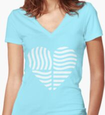 Love: The Fifth Element  Women's Fitted V-Neck T-Shirt