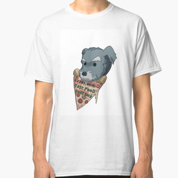 Ozzzy Pizza Text Classic T-Shirt