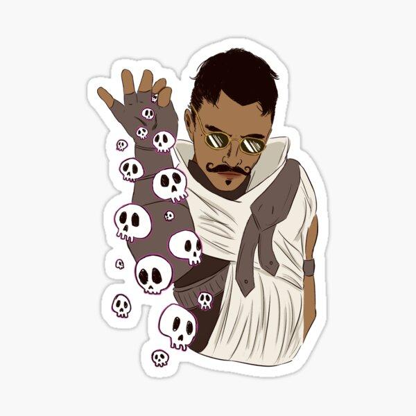 Necromancer bae Sticker