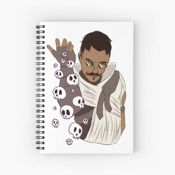 Necromancer bae Spiral Notebook