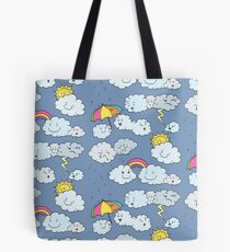 In a Cloudy Mood Tote Bag