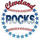 Cleveland Rocks Baseball!  by vickieverlie
