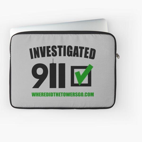 911 Investigated (ZERO MARK-UP) Laptop Sleeve
