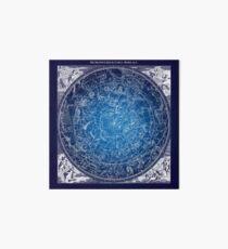 Konstellationen Sternkarte Galeriedruck