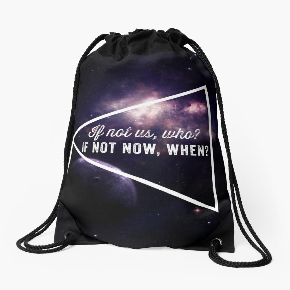 If not us  Drawstring Bag
