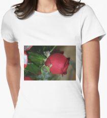One Rose; La Mirada, CA USA Women's Fitted T-Shirt