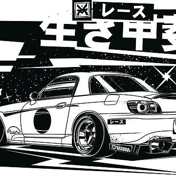 "HONDA S2000 Stance ""Bushido"" by KatanaMarket"