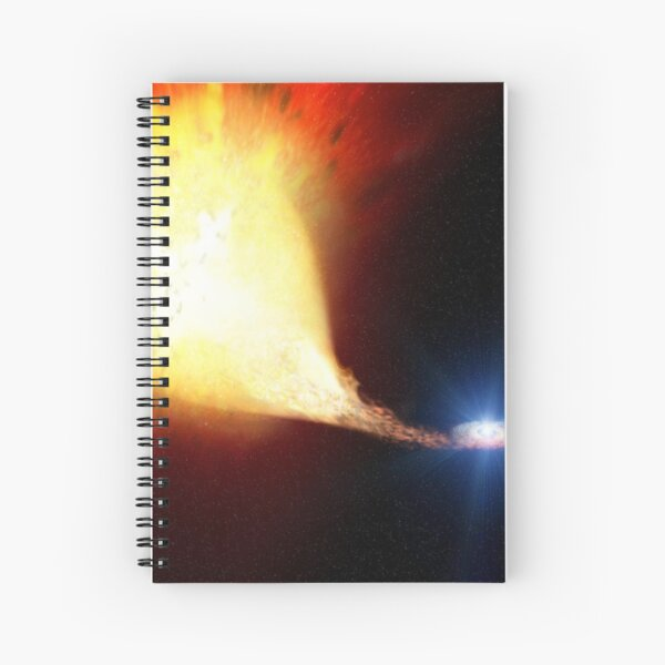 Explosive supernova Spiral Notebook