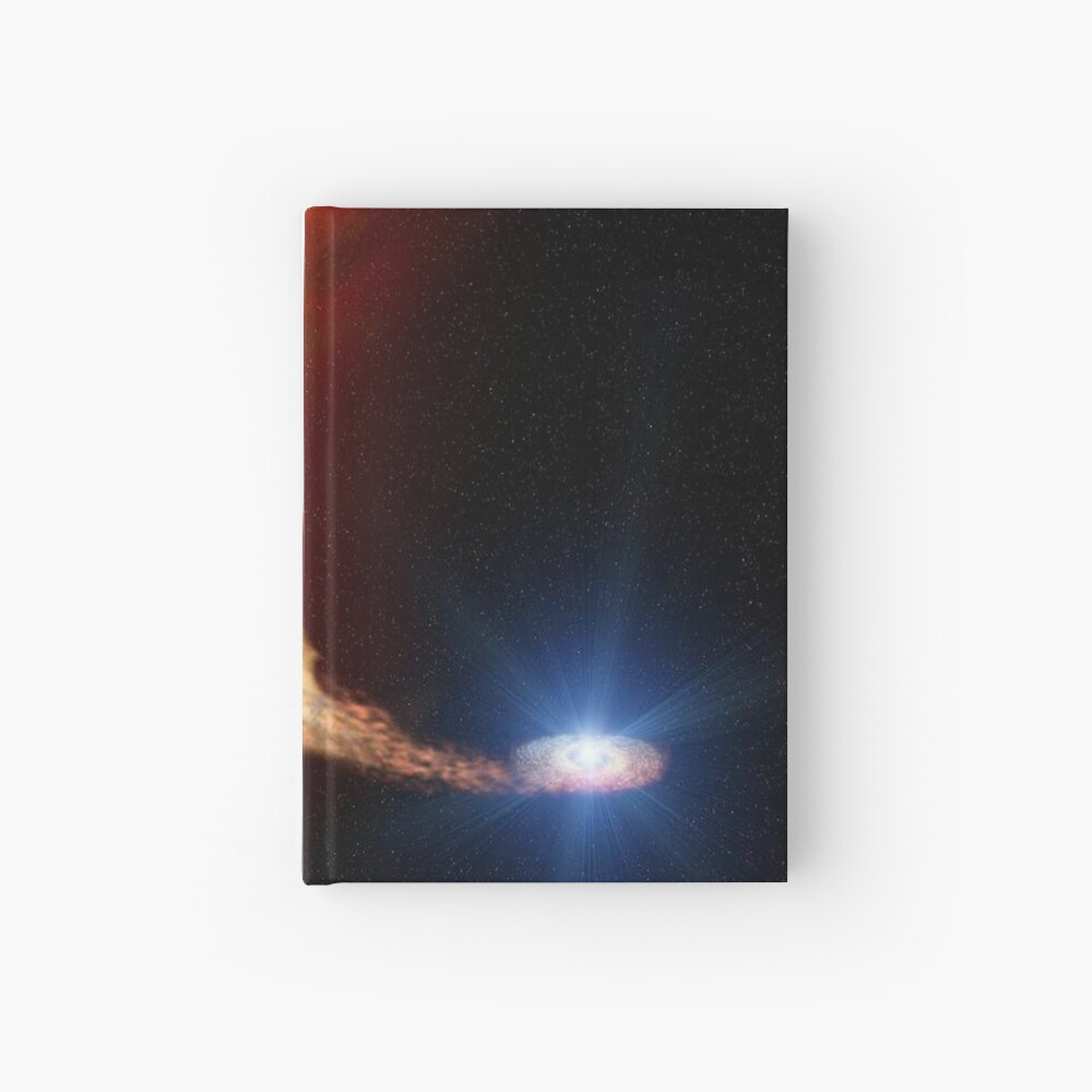 Explosive supernova Hardcover Journal