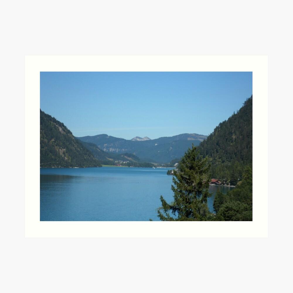 Achen Lake Art Print
