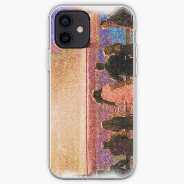 Enemy at the gate  iPhone Soft Case
