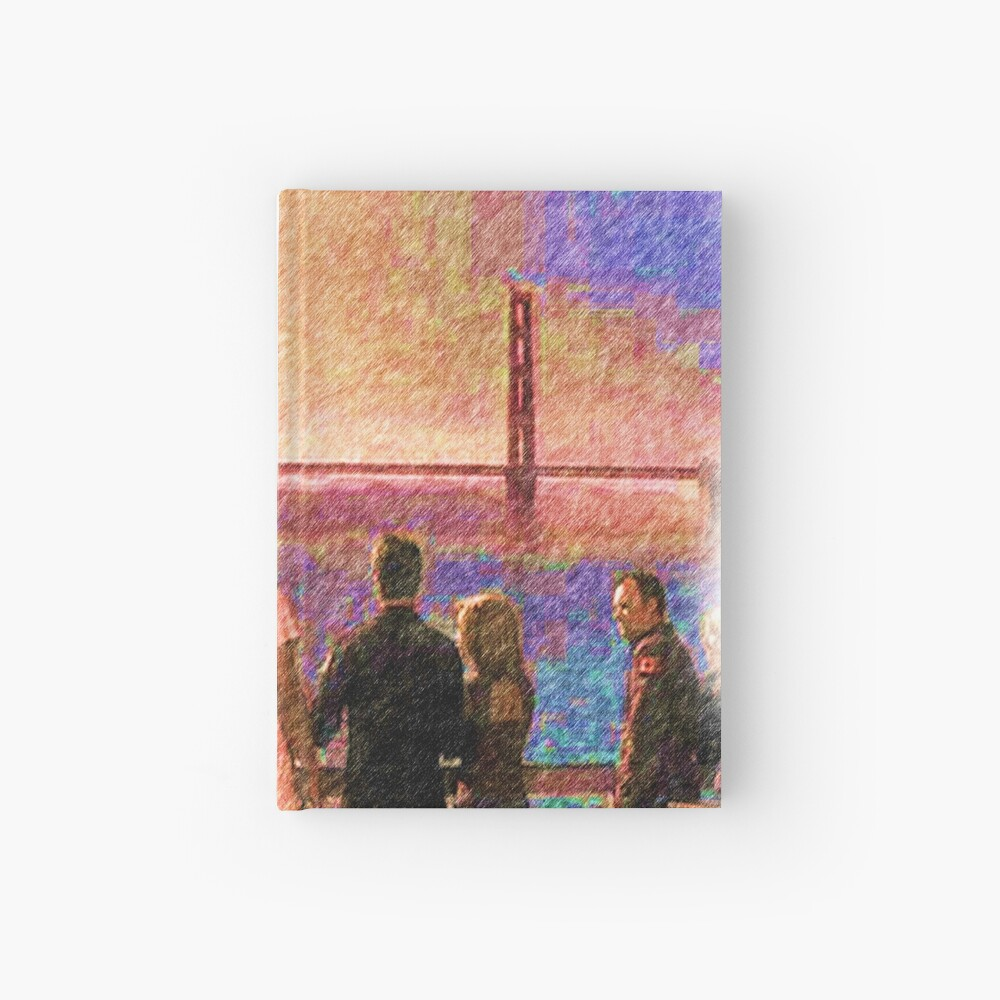 Enemy at the gate  Hardcover Journal