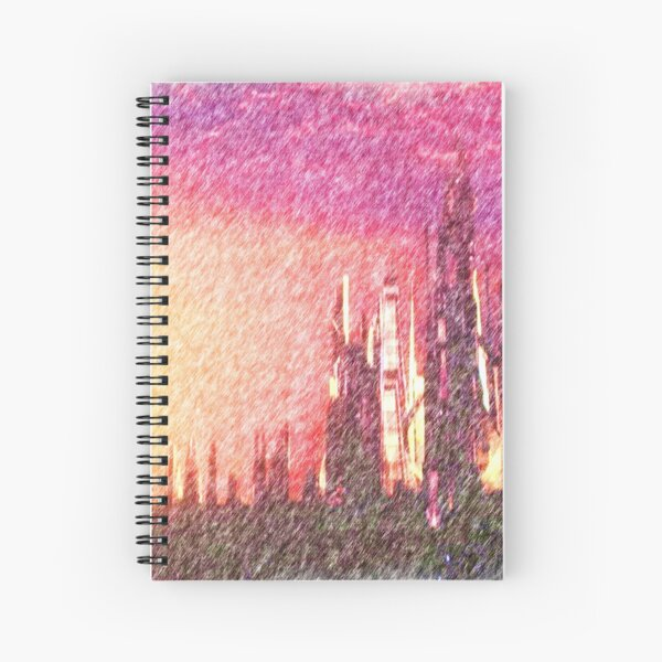 Alteran sunset Spiral Notebook