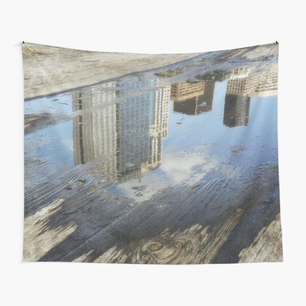 City reflection Tapestry