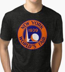 Camiseta de tejido mixto 1939 Feria Mundial de Nueva York