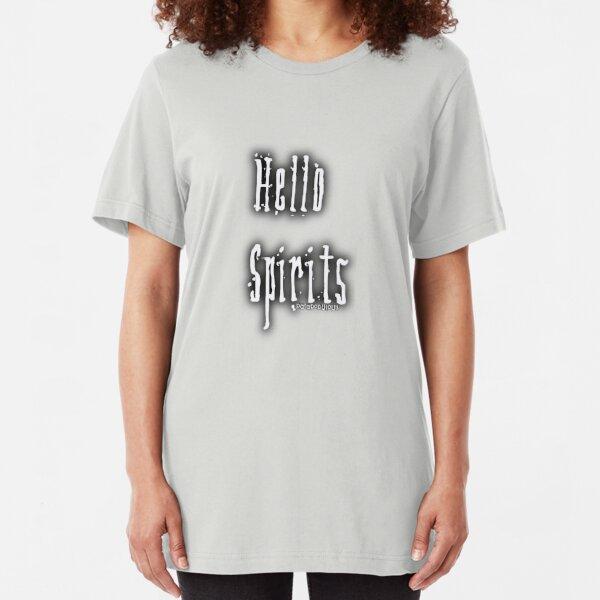 Hello Spirits Slim Fit T-Shirt