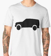 Toyota land cruiser 80 series black Men's Premium T-Shirt