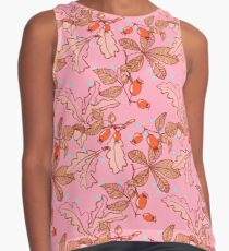 Happy Herbst! playful autumn pattern Contrast Tank