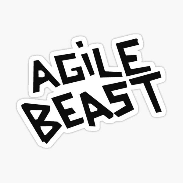 Arctic Monkeys Agile Beast tee Sticker