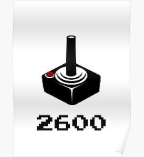 2600 RETRO VIDEO GAMER Poster
