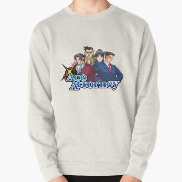 OG Ace Attorney Squad Pullover Sweatshirt