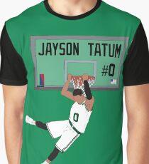 Jayson Tatum Dunk Graphic T-Shirt