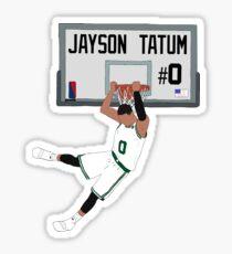 Jayson Tatum Dunk Sticker