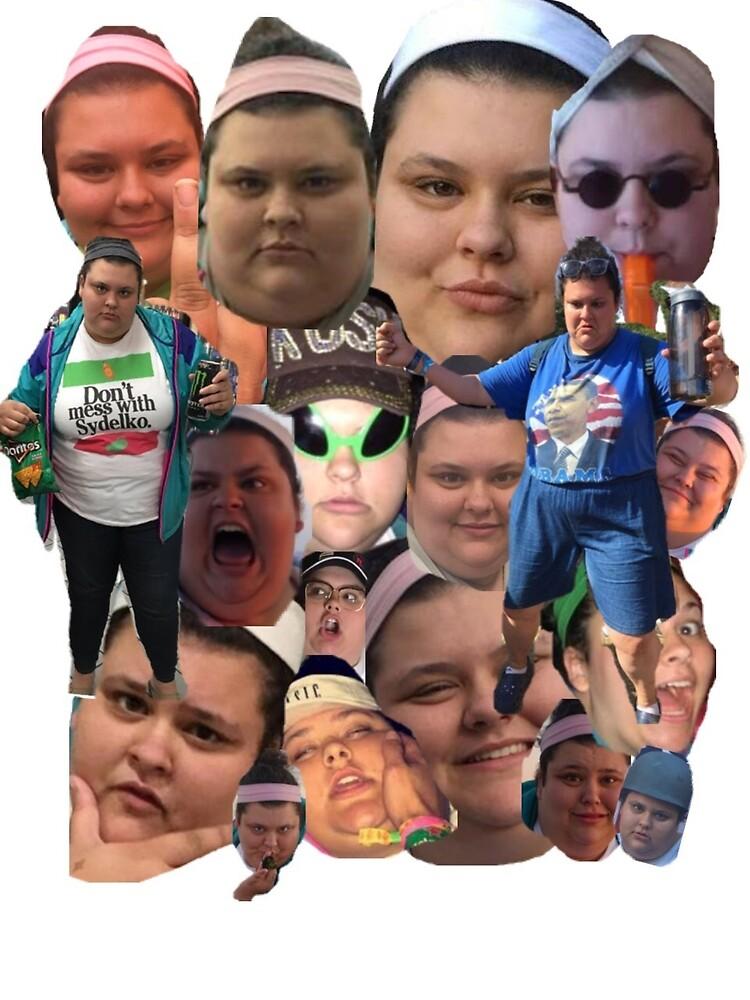 «Collage de Christine Sydelko» de rainyrainbow