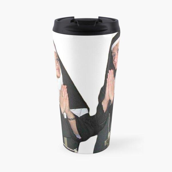 Saint Paris Hilton and Nicole Richie Travel Mug