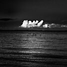 Manly View B&W - Queensland by Daniel Carr