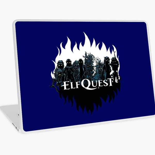 Elfquest: Trouble in the woods Laptop Skin
