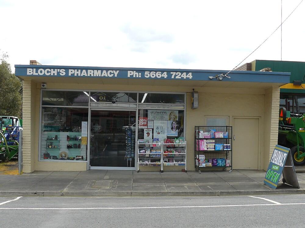 Bloch's Pharmacy by Joan Wild