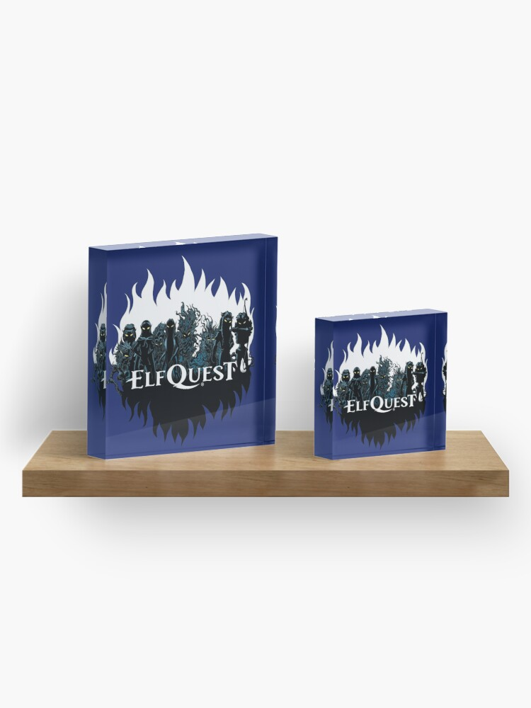Alternate view of Elfquest: Trouble in the woods Acrylic Block