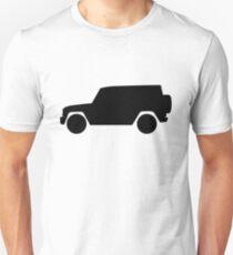 Mercedes-Benz  G Wagon - side - black Unisex T-Shirt