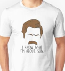 Ron Swanson Quote Parks and Recreation T-Shirt