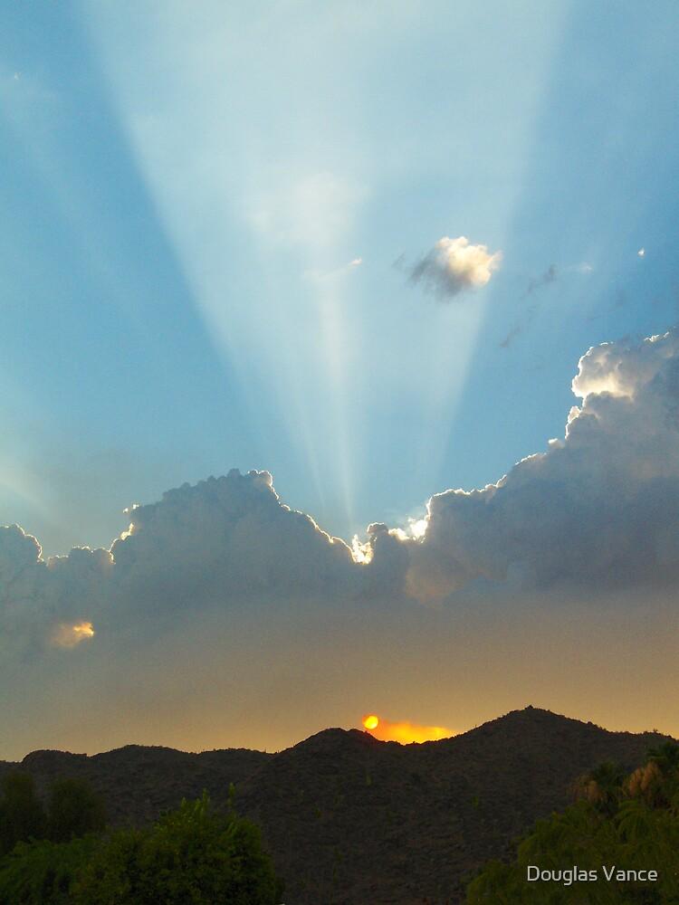 Heavens Spotlight by Douglas Vance
