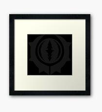 Shadow of War - Dark Tribe Framed Print