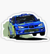 Subaru Impreza WRX STi World Rally Championship WRC Car Sticker