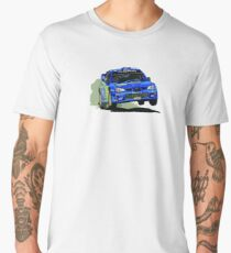 Subaru Impreza WRX STi World Rally Championship WRC Car Men's Premium T-Shirt