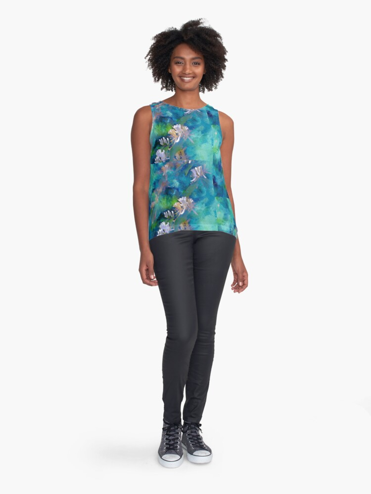Alternate view of Spring Synthesis Sleeveless Top