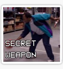 Stanley The Office Basketball Secret Weapon Sticker