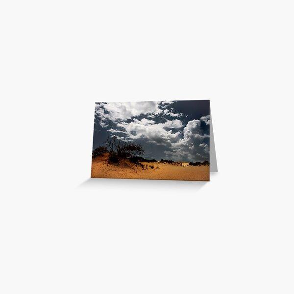 Please Let It Rain Greeting Card