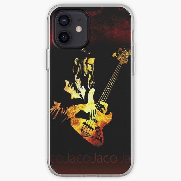 Jaco Pastorius Flame iPhone Soft Case