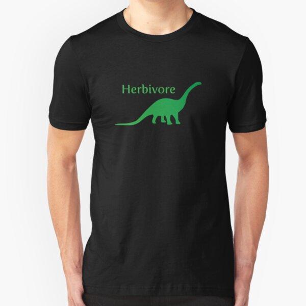 Herbivore Dinosaur Green Slim Fit T-Shirt