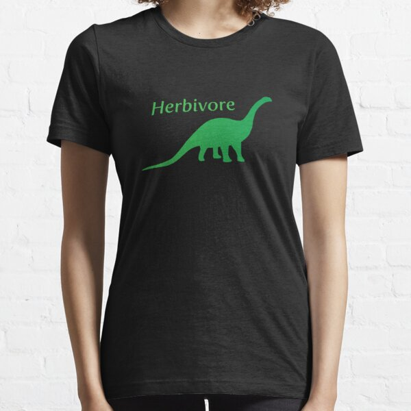Herbivore Dinosaur Green Essential T-Shirt
